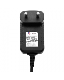 LRIPL Power Adapter 12V 1A with DC Pin (Black)