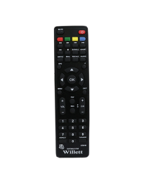 WILLETT SET TOP BOX REPLACEMENT REMOTE CONTROL by Lripl