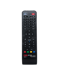 DEN HD STB (SET TOP BOX) REPLACEMENT REMOTE CONTROL with LEARNING FEATURE by LRIPL
